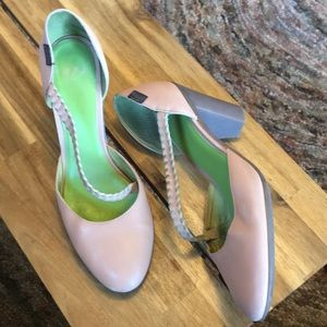 Camper blush and green heels size 40